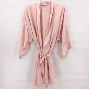 Vintage Victoria Secret  rose wrap style robe